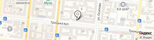 Vanderlit на карте Одессы