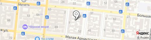 Дива на карте Одессы