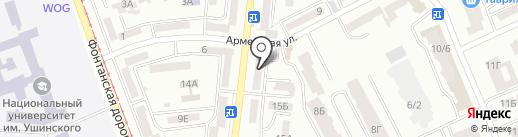 Швейное ателье на карте Одессы
