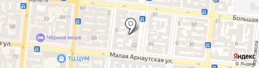 Симфония на карте Одессы