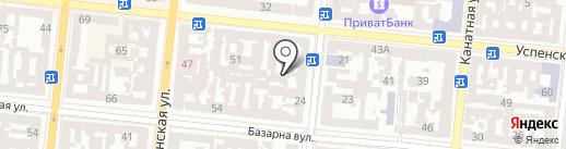 ФАКТОР на карте Одессы