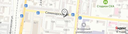 Наша ряба на карте Одессы
