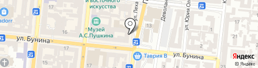 Trendon на карте Одессы