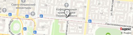 Дорожный контроль. Одесса на карте Одессы