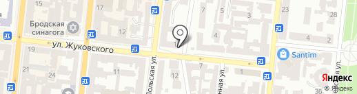 KIND на карте Одессы