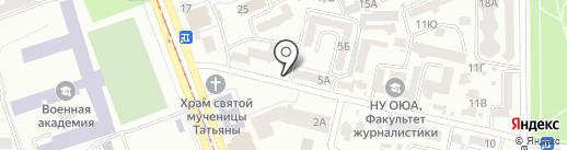 Mr.Grill на карте Одессы