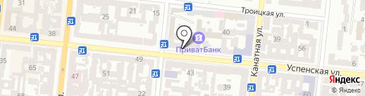 Тайм кошер на карте Одессы