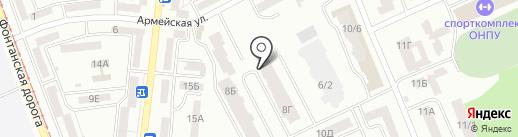 ChilliNail на карте Одессы