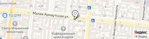 Богиня на карте Одессы