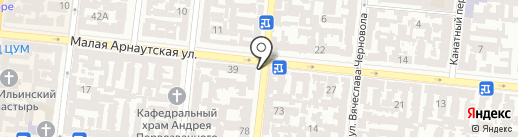 Мир Белья №1 на карте Одессы