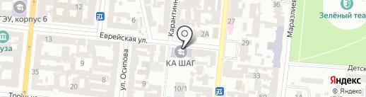 Терминал самообслуживания, Банк Восток, ПАО на карте Одессы