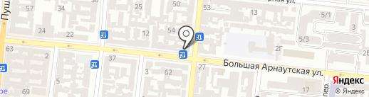 НОТАР И УС на карте Одессы