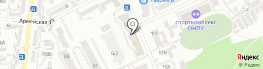 Наш Дом на карте Одессы