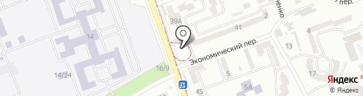 Трамвай №16 на карте Одессы