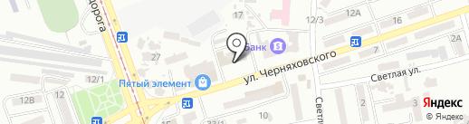 Управление государственной регистрации юридического департамента Одесского городского совета на карте Одессы