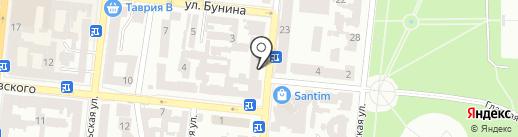 Platinum Fitness на карте Одессы