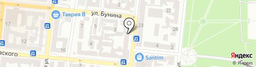 Экспресс полиграфия на карте Одессы