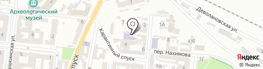 Diamond на карте Одессы