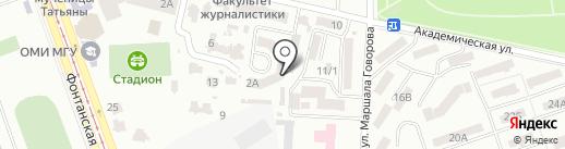 Фотостудия Виктора Лысенко на карте Одессы
