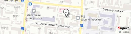 Мышеловка на карте Одессы