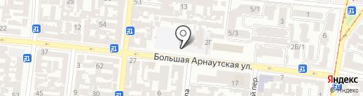 Графф Марин на карте Одессы