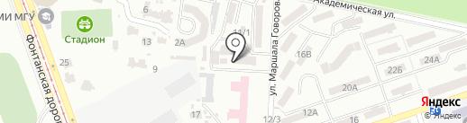 Стоматологический кабинет на карте Одессы