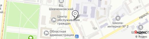 SAMUI на карте Одессы