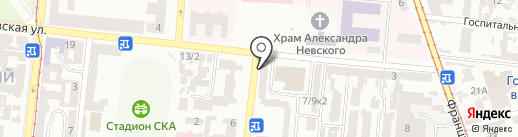 Degesso на карте Одессы