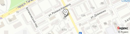 Гратте на карте Одессы