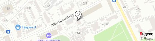 Теплоснабжение, КП на карте Одессы