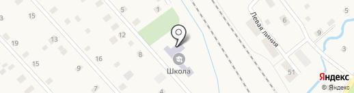 Цаблинская основная общеобразовательная школа на карте Ульяновки