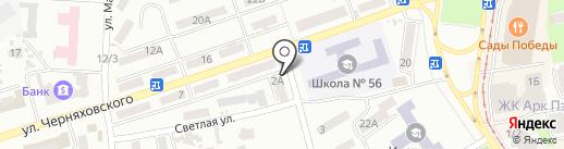 Arowana Club на карте Одессы