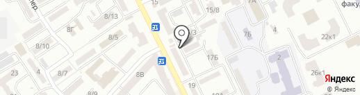 Сеть центров бытовых услуг на карте Одессы