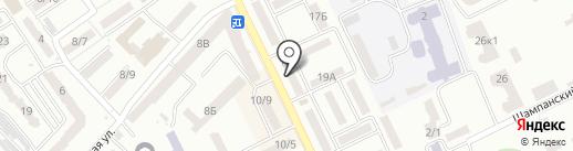 Будматеріали на карте Одессы