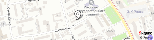Zebra на карте Одессы