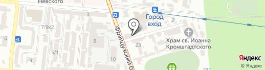 Go!Tour на карте Одессы