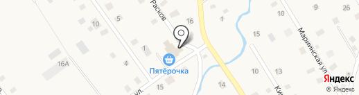 Магазин одежды на карте Ульяновки