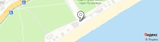 Иzюм на карте Одессы