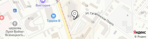 X-wave на карте Одессы