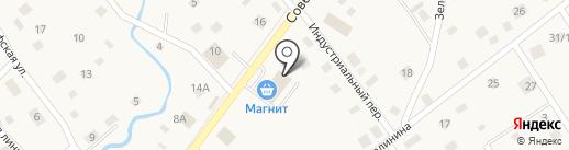 Магазин женской одежды на карте Ульяновки