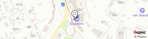 Gagarinn Food Hub на карте Одессы
