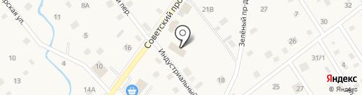 ТехЦентр на Советском на карте Ульяновки