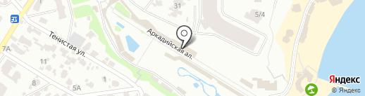 Big Burger на карте Одессы