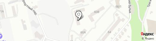 Конфета на карте Одессы