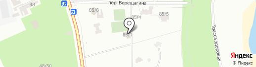 Адвокат Ляшан С.А. на карте Одессы