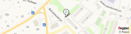 Полушка на карте Отрадного