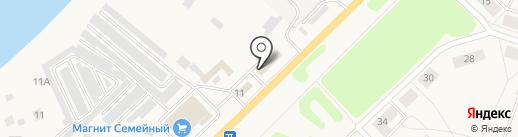 Автомойка №1 на карте Отрадного