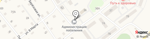 Администрация на карте Ульяновки