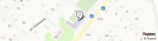 Ульяновская средняя общеобразовательная школа №1 на карте Ульяновки