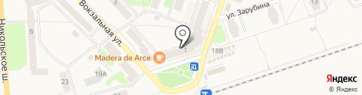 Норман на карте Отрадного